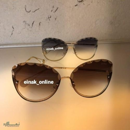 انواع عینک های افتابی دخترانه جدید