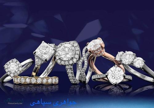 طلا و جواهرات زیبای جذاب