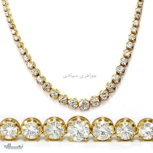 طلا و جواهرات زیبای باکلاس