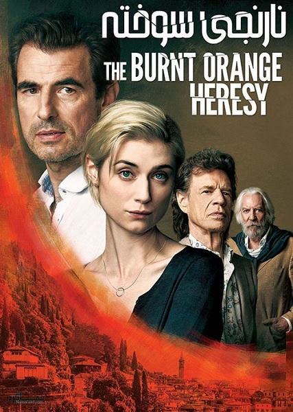 دانلود رایگان فیلم نارنجی سوخته The Burnt Orange Heresy 2019