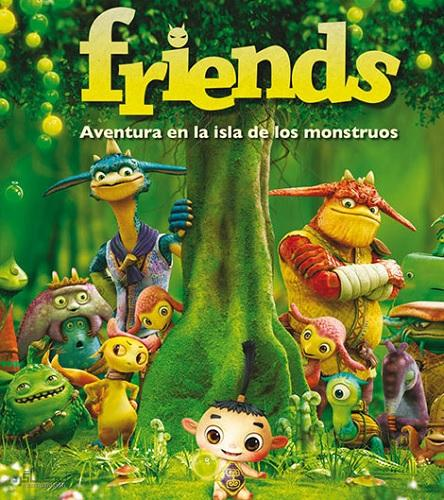 دوبله فارسی انیمیشن Friends: Naki on the Monster Island 2011