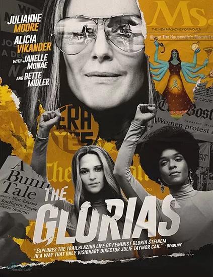 دانلود رایگان فیلم گلوریاها The Glorias 2020 با زیرنویس فارسی