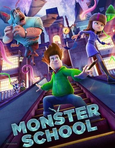 دانلود رایگان دوبله فارسی انیمیشن جدید Monster School 2020