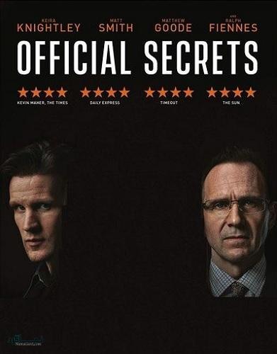 دانلود رایگان دوبله فارسی فیلم اسرار رسمی Official Secrets 2019