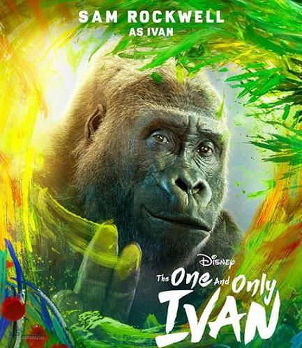 دانلود رایگان دوبله فارسی فیلم The One and Only Ivan 2020